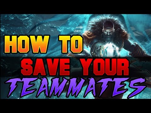 Dota 2 How to Save your teammate