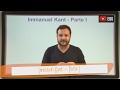 Aula 23 - Filosofia - Immanuel Kant - Parte I