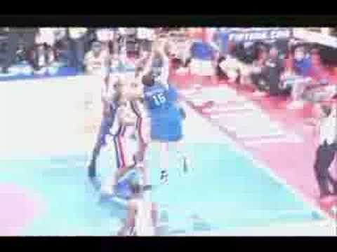 Tayshaun Prince Rejects Hedo Turkoglu (5.13.08) Video