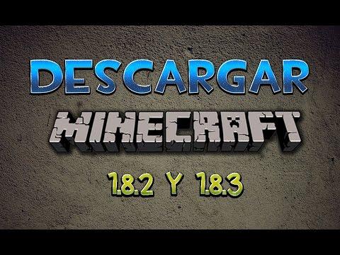 Como Descargar Minecraft 1.8.3/1.8.2 Ultima Versión | Launcher Actualizable | Pirata En Español