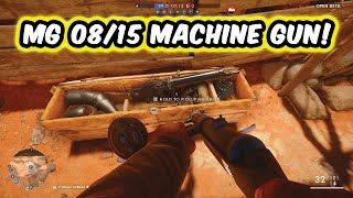 MG 08/15 MACHINE GUN ELITE CLASS BATTLE PICKUP LOCATION! - Battlefield 1