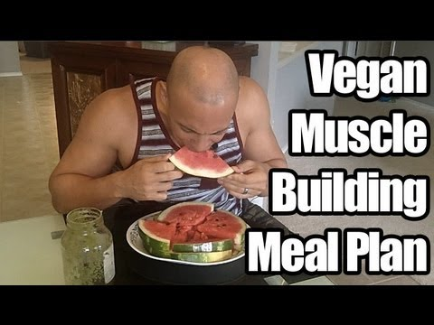 Vegan Bodybuilder Frank Vegan Bodybuilding Meal Plan