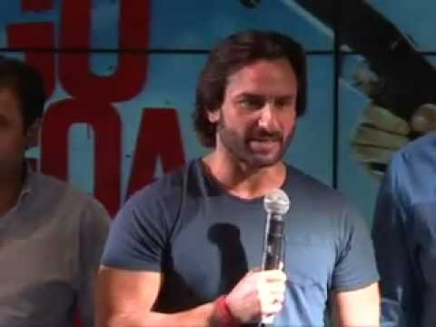 'Go Goa Gone' Music launch | Saif Ali Khan, Kunal Khemu &amp; Puja Gupta