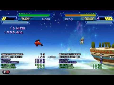 Dragon Ball Z Shin Budokai 2 - Como hacer el Kamehameha y Genkidama