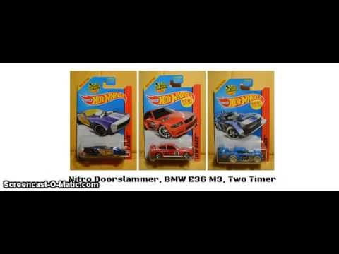 Hot Wheels 2014/2015- -Most- Q Case and K-day First to Market 2015 Car Lineup