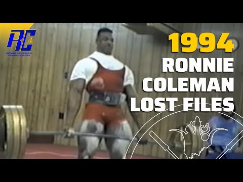 Ronnie Coleman's First Power Lifting Competition video