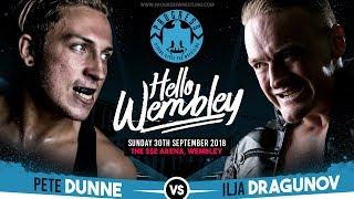 Bruiserweight vs Unbesiegbar: The biggest match in European pro wrestling comes to Wembley Arena