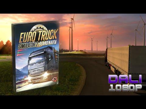 Euro Truck Simulator 2 Scandinavia DLC Highlights PC Gameplay 60fps 1080p