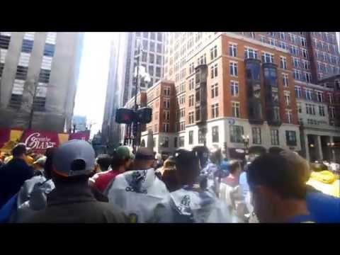 Boston Marathon 2014 in 15 Minutes - A Google Glass First-Person View