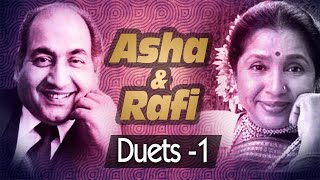 Best of Mohd Rafi & Asha Bhosle Duets - Jukebox 1 - Evergreen Bollywood Old Song Collection
