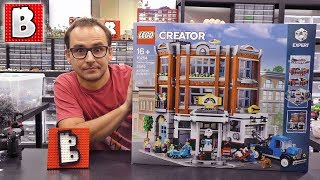 LEGO 10264 Corner Garage LIVE BUILD  2019 Creator
