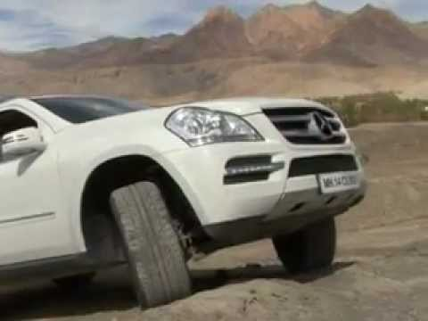 Mercedes-Benz SUV Drive at Leh - G55 AMG & GL-CLass - FLY WHEEL - Episode 71 - Part 1.avi