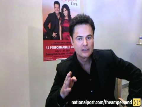 ... American singer, musician, actor and former teen idol, talks about what ...