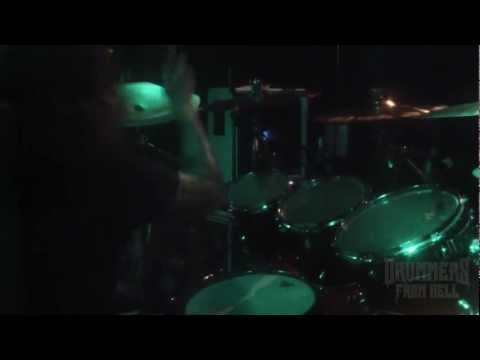 Virgin Snatch-covan Wake The Fuck Up-cracow 2013 (drum Cam) video