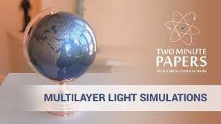 Multilayer Light Simulations: More Beautiful Images, Faster
