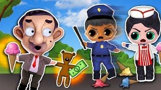 MR BEAN 🔹 LADRÓN  por UN DÍA! 🔹 BUSCADO por la POLICIA 👮🏻♂️🚔 Juguetes Fantásticos