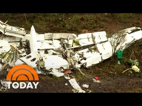 Colombia Plane Crash: New Images Of Wreckage Offer Clues To Tragedy | TODAY