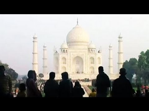 Tourists can now get an aerial-view of Taj Mahal