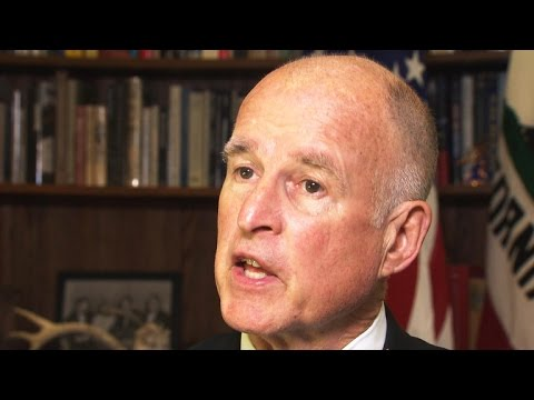 The zeal of Gov. Jerry Brown