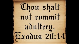 What Does God Consider to be Adultery?