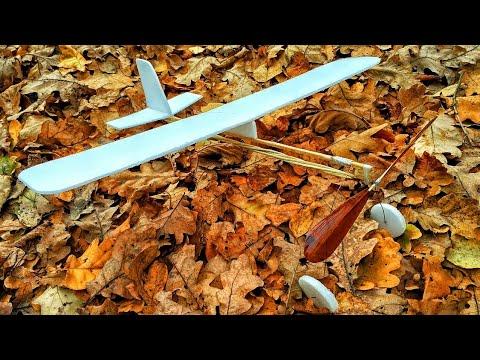 Как сделать резиномоторный самолёт