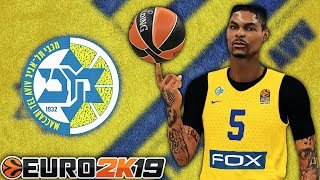 "NBA 2K19 MyCareer ""Euroleague"" #1 - I Signed With Maccabi Tel Aviv 