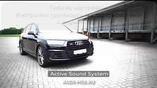 Активная выхлопная система - Active Sound System - Audi, Porsche, BMW, VW, Mercedes