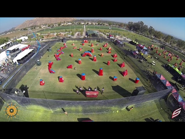 2014 PSP Aerial Drone Paintball Video - Amazing Views of the Fields