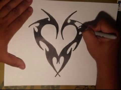 How To Draw Graffiti Hearts How to draw a heart by