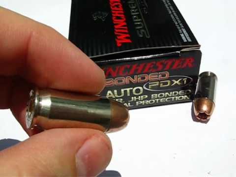 45 ACP - Winchester 230 Gr. PDX-1 - Ammo Test