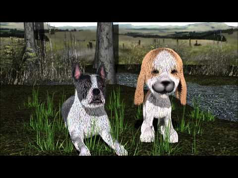 bowwow, sad toy dogs.wmv