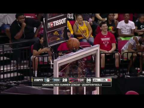 Minnesota Timberwolves vs Toronto Raptors | July 16, 2016 | NBA Las Vegas Summer League 2016