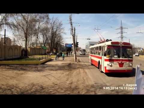 ЗИУ-5 // ZIU-5 // кировский троллейбус // ретро