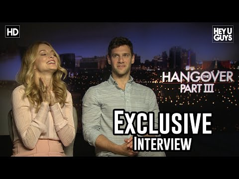 Heather Graham and Justin Bartha Interview - The Hangover 3