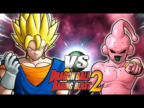 Dragon Ball Z Raging Blast 2 - Super Vegito Vs. Kid Buu (Green Screen!)