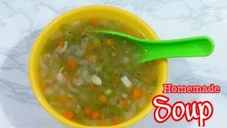 Healthy vegetable soup recipe | Easy Homemade healthy Soup by nug kr09