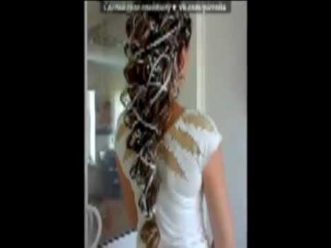 самые модные прически 2012 видео как делать