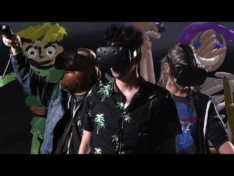 TiltBrush: Drawing Our Favorite Video Game Characters in VR