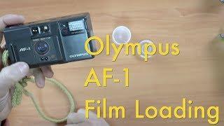 Olympus AF-1 || Film Loading