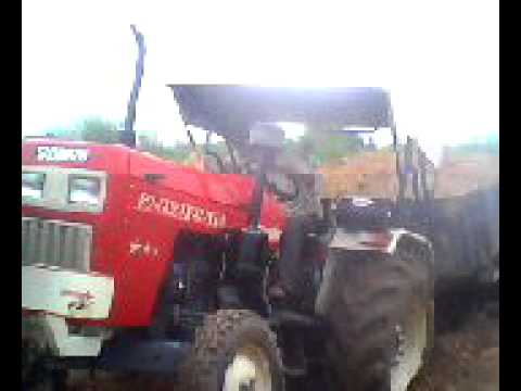 Tractor Stunt video