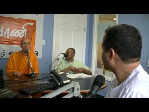 ISKCON Scarborough- Live tamil radio program with HH Bhakti Swarupa Caitanya Swami