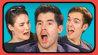 YouTubers React to Chair Flip Challenge Compilation