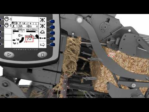 CLAAS QUADRANT 3300 animation / 2011