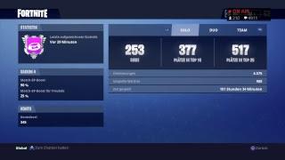 Fortnite Solo Grind Late Night Stream! [1700+Wins] [26500+Kills]  RT 14,5K