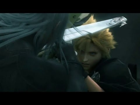 FFVII Advent Children - Chasing Kadaj, Battle On The Road Full Japanese 720p HD