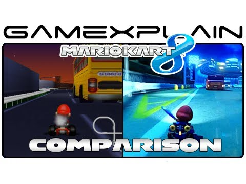 Mario Kart 8: Toad's Turnpike N64 Head-to-Head Comparison (Wii U vs. N64)