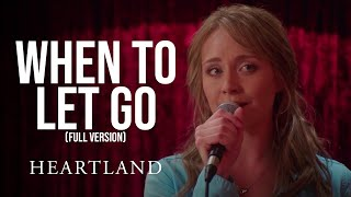 When to Let Go Full Version | Amber Marshall and Shaun Johnston | Heartland 1004 | CBC