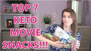 KETO: Movie Snacks/Popcorn Alternatives!