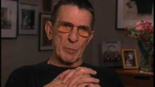 Leonard Nimoy discusses Mr. Spock's