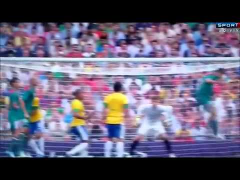 Mexico 2 Vs 0 Brazil -  Goal Oribe Peralta  - Olympics London 2012